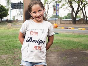 Kinder T-Shirt bedrucken lassen auf tshirt-bedrucken-deutschland.de
