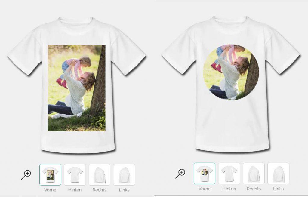 Kinder Kleidung bedrucken lassen mit Foto Druck